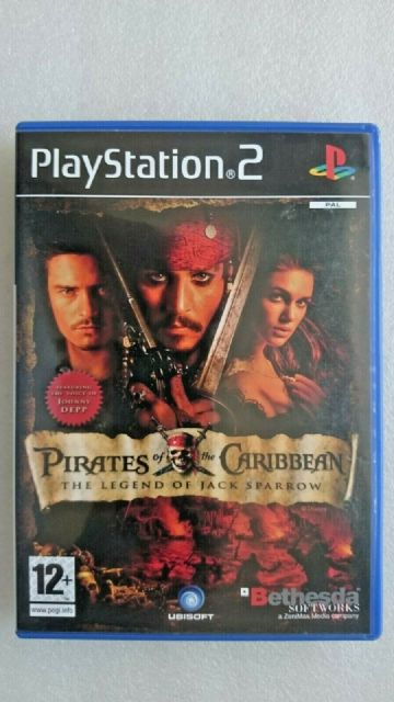 Pirates of the Caribbean: The Legend of Jack Sparrow (Sony Playstation 2, 2006)